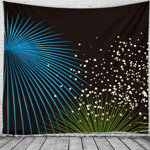 Wall hanging tapestry - army green / 230x180cm - christmas
