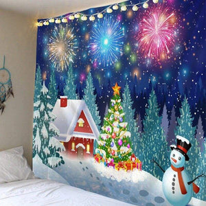Wall hanging tapestry - christmas
