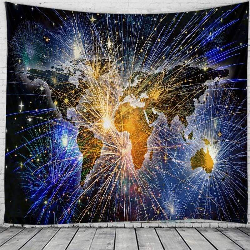 Wall hanging tapestry - color / 230x180cm - christmas