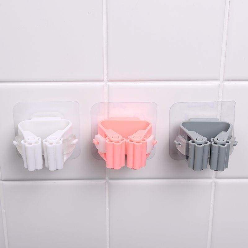 Wall mounted mop organizer - bathroom accessories 1