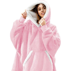 Wearable blanket for all - -pink - blankets