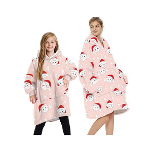Wearable blankets printed - rabbit / kids