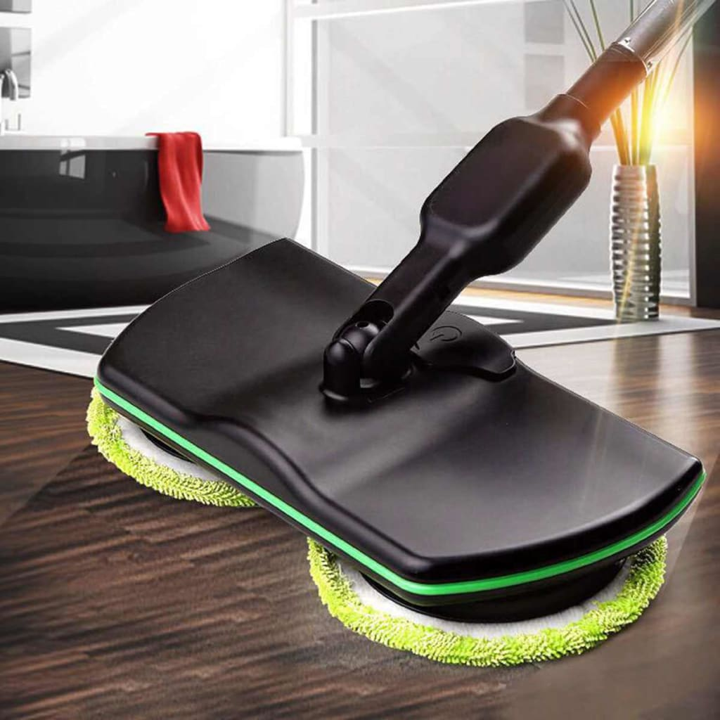 Wireless mop - black - smart home cleaning