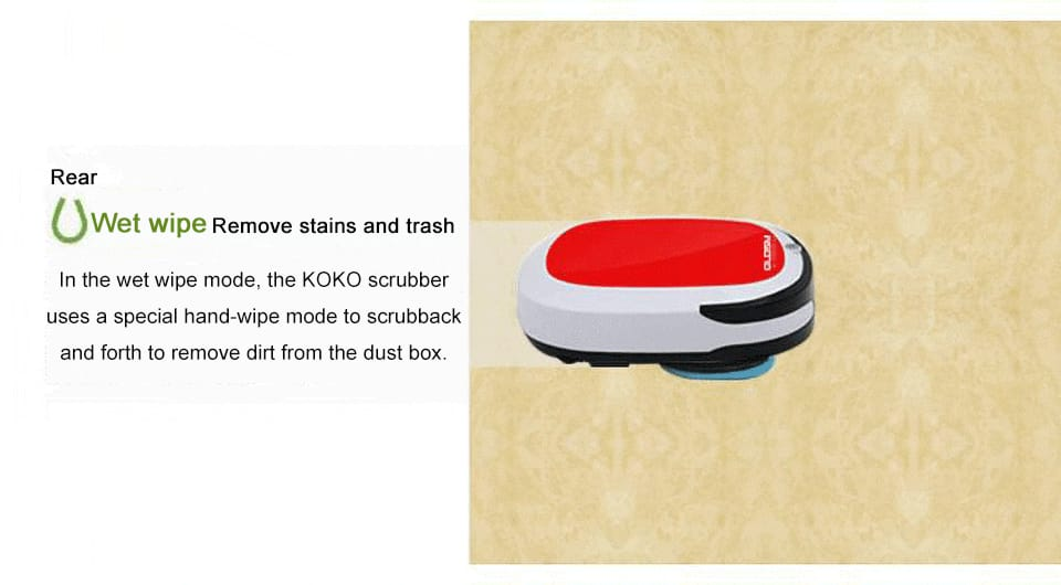 Rechargeable smart robot vacuum cleaner just for you