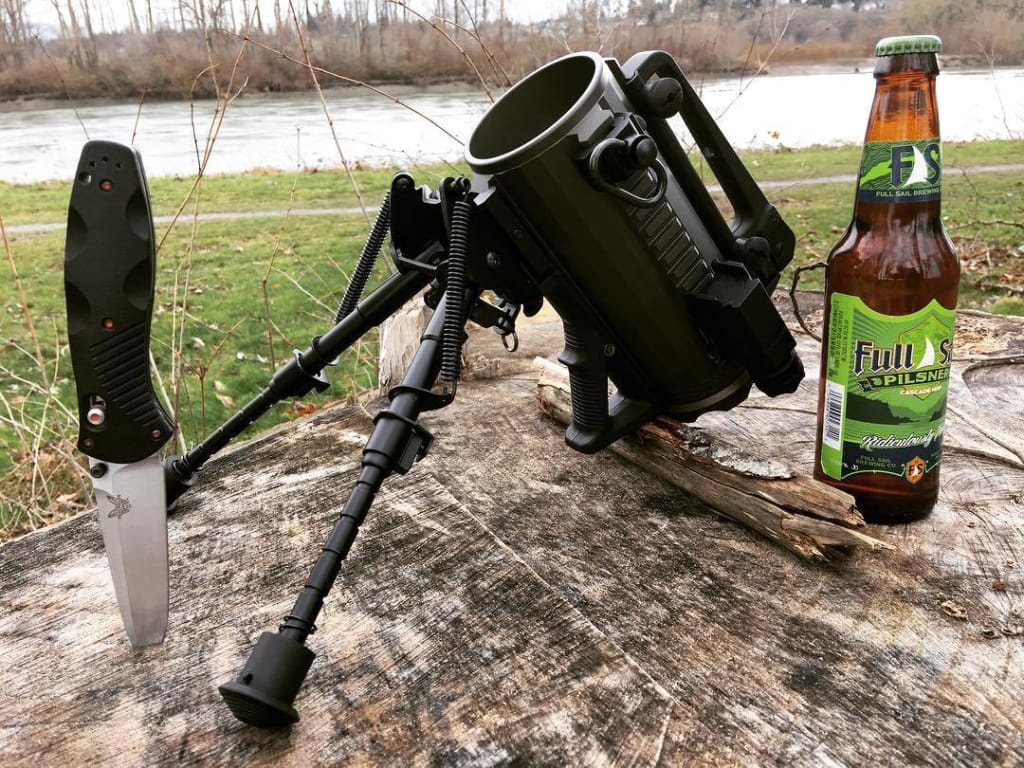 Tactical mug just for you