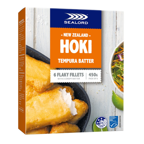 New Zealand Sealord Hoki Tempura Batter 450g