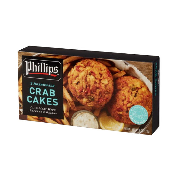 Indonesia Phillips Indonesia Phillips Broadwalk Crab Cakes (2pcs ) 170g