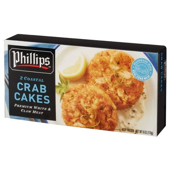Indonesia Phillips Coastal Crab Cakes (2pcs) 170g