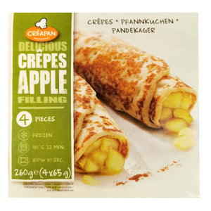 Belgium Creapan Apple Filled Crepes (4pcs) 260g
