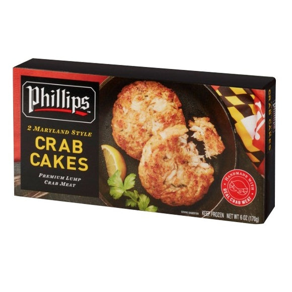 Indonesia Phillips Maryland Style Crab Cakes (2pcs) 170g