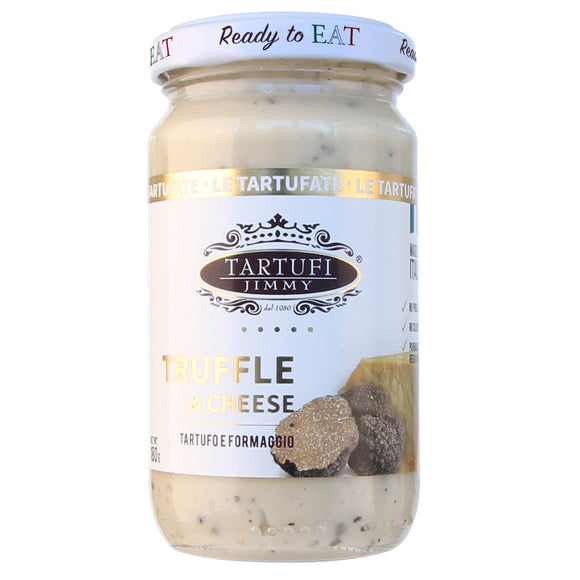 Italy Tartufi Jimmy Ready To Eat Truffle & Parmigiano Cheese Pasta Sauce 180g