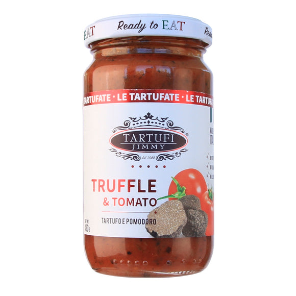 Italy Tartufi Jimmy Ready To Eat Truffle & Tomato Pasta Sauce 180g