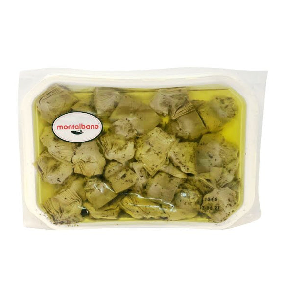 Italy Montalbano Sliced Artichokes in Sunflower Oil 1kg