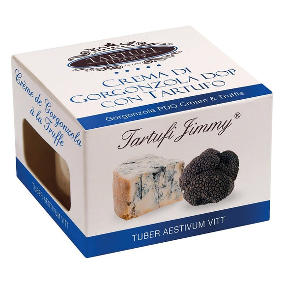 Italy Tartufi Jimmy Black Truffle With Gorgonzola PDO Cheese 90g