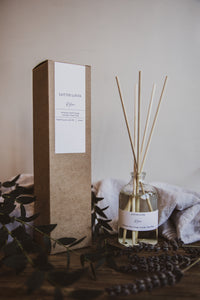 CLEAR GLASS Reed Diffuser
