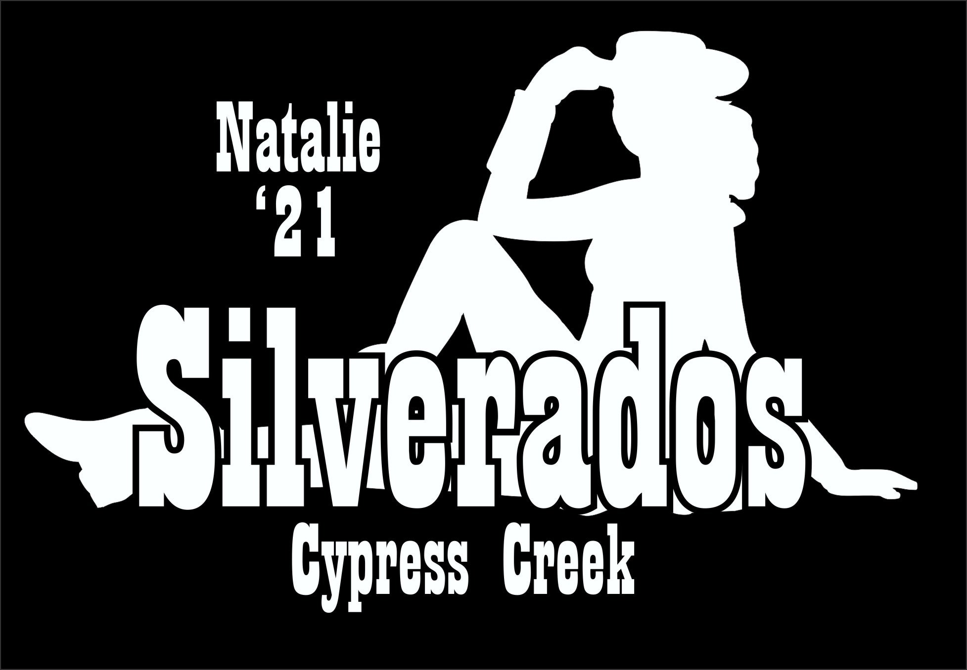 Cy-Creek Silverados Car Decal