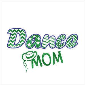 Dance Mom Hat Digital File  SVG, ESP, PNG, Jpg File