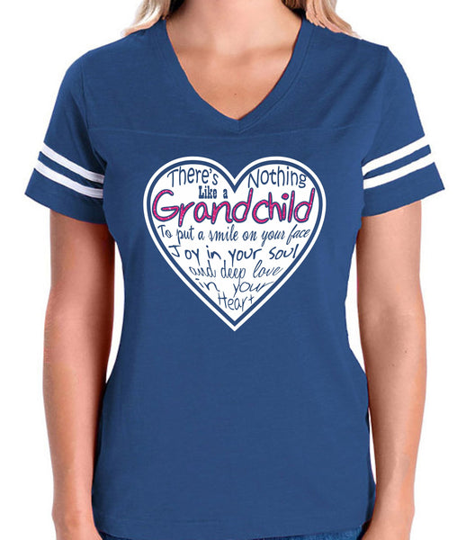 There's Nothing Like a Grandchild Heart Digital File  SVG, ESP, PNG, Jpg File