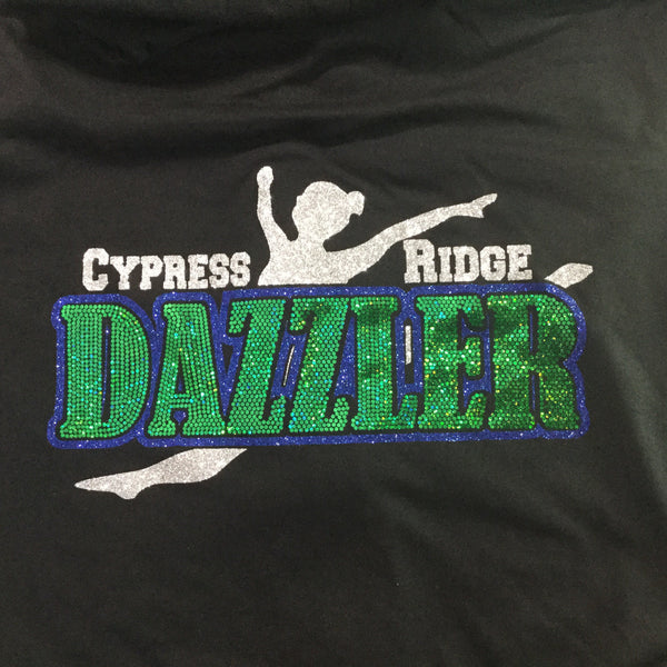 Cy-Ridge Dazzler Spangle Hoodie
