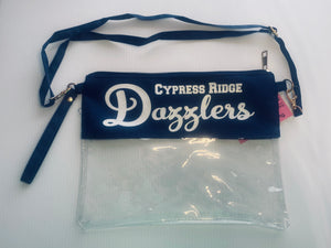 Cy-Ridge Dazzler Clear Stadium purse