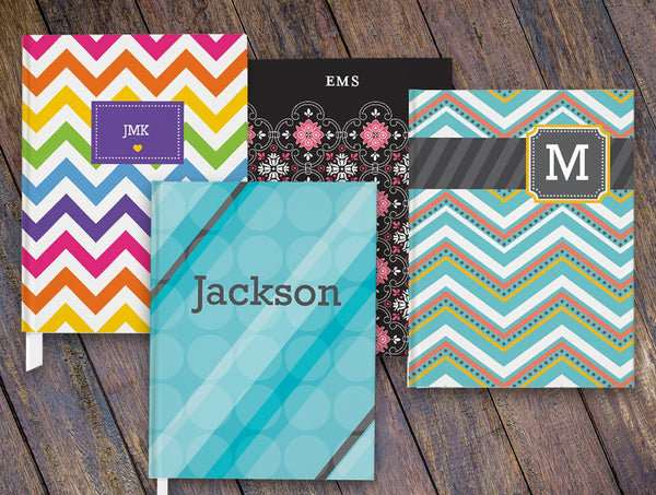 Personalized Notebooks and journals collection