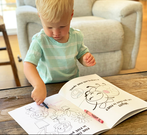 Personalized coloring books collection