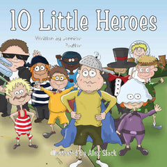 10 little heroes book