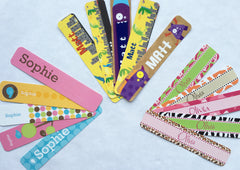 Personalized Party Favors - bookmarks for kids