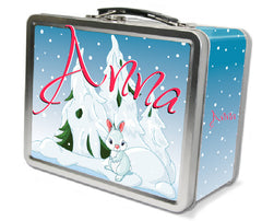 Girls Chirstmas Lunchbox