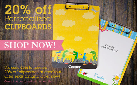 Clipboards sale