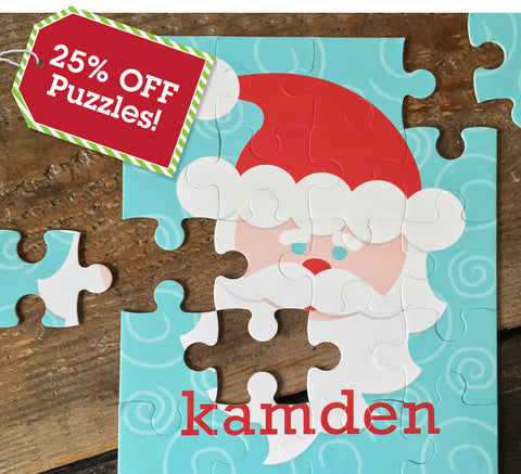 Deal of the Day 25% off Puzzles sale