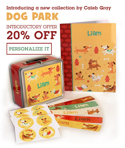 20% off Dog Park - the new collection by Caleb Gray