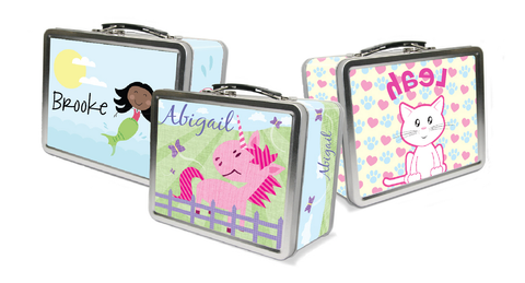 Girls' Lunch boxes