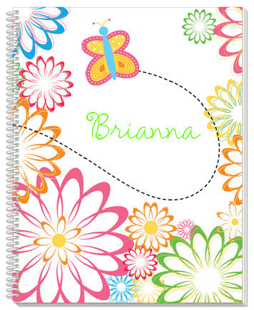 Flutterbees Notebook - frecklebox