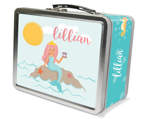 Mermaid Lunchbox - frecklebox
