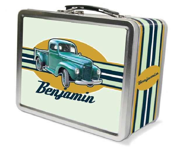 Vintage Truck Lunchbox - frecklebox