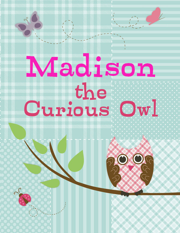 Curious Owl Coloring Book - frecklebox