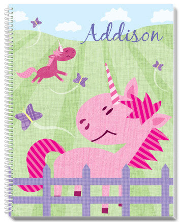 Pink Pastures Notebook - frecklebox