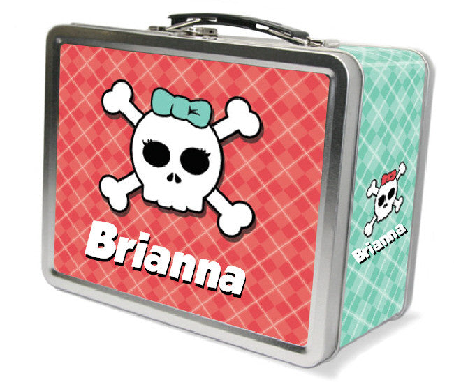 Skullo Kiddy Lunchbox - frecklebox