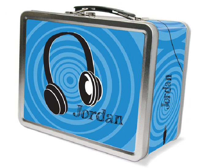 Headphones Lunchbox - frecklebox