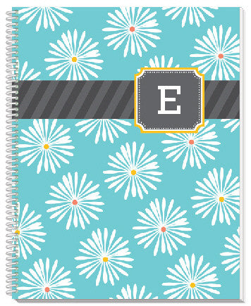 Multi Monogram Notebook - frecklebox