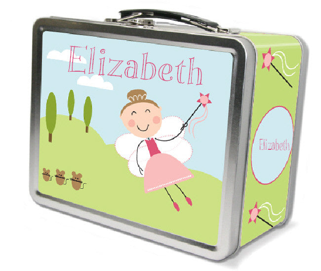 Light Brown Hair Fairy Lunch Box - frecklebox
