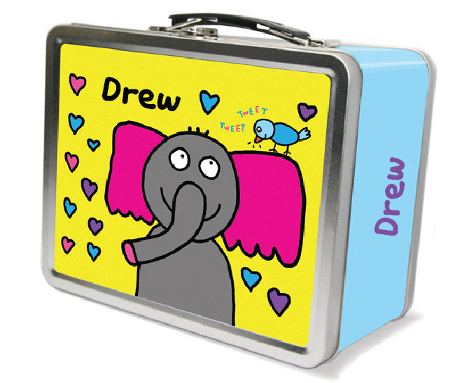 Tweet Tweet Elephant Lunchbox - frecklebox