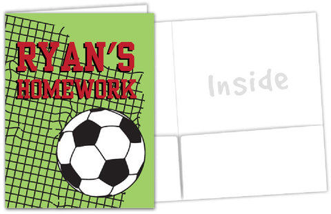 Soccer School Folder