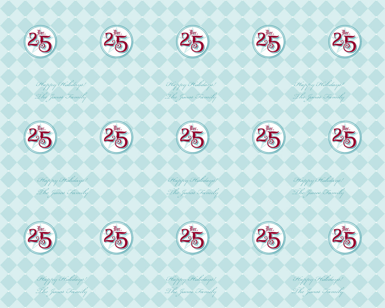 Holiday Wrapping Paper 12ft - frecklebox