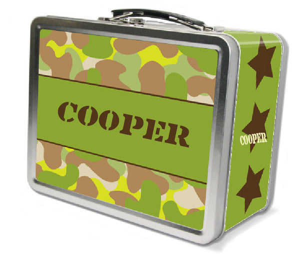 Camo Lunch Box - frecklebox