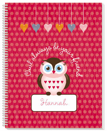 Owl Friends Notebook - frecklebox
