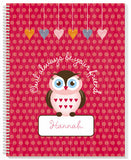 Owl Friends Notebook - frecklebox - 1