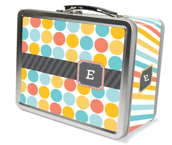 Multi Monogram Lunchbox - frecklebox
