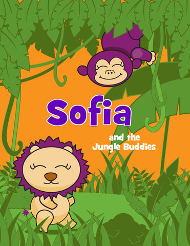 Jungle Activity Book